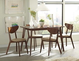Kersey Retro Chestnut Dining Table Set (Out of Stock) Please Call Store for ETA