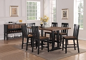 5-Pc Counter Height Wooden Dining Set