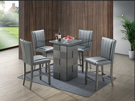 5 Pcs Counter Height Table Set