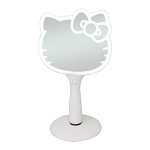 HELLO KITTY LED HANDHELD MAKEUP MIRROR WITH STANDING BASE