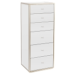 SLAYSTATION® RYLIE 6-DRAWERS VANITY STORAGE UNIT