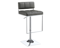 Adjustable Leatherette Bar Stool- color option