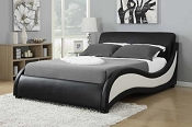 Black and White Modern Bed Frame