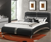 Modern Jeremaine Upholstered Bed