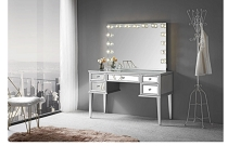 SLAYSTATION® KIMBERLY MIRRORED VANITY TABLE