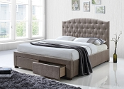 Denise Mink Fabric Bedframe