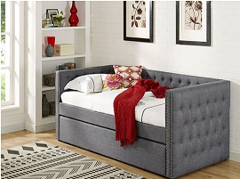 Twin Day Bed & Trundle- color option