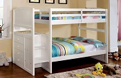 Twin/Twin Appenzell White Bunk Bed