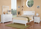 Wooden Bed Frame-color option